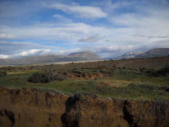El Calafate, Argentine : A terra, à mercê do vento