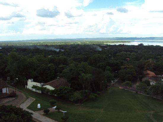 Aregua, Paraguay: vista desde el campanario de la iglesia