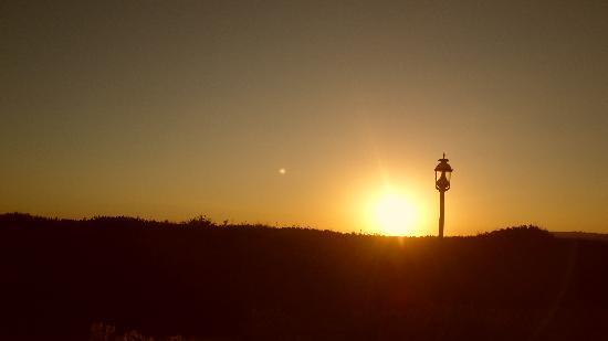 Hotel del Coronado: Sunset from our patio
