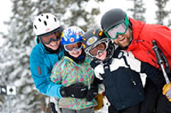 Salida, CO: Family at Monarch Mountain