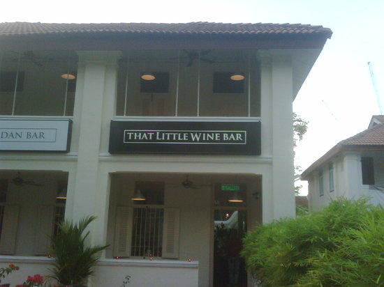 That Little Wine Bar: Front view