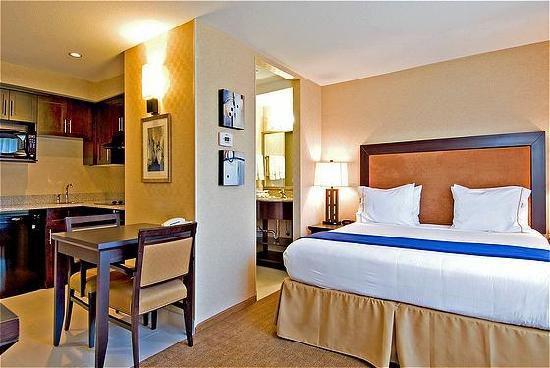 Holiday Inn Express Hotel & Suites Riverport: Studio King Kitchen suite