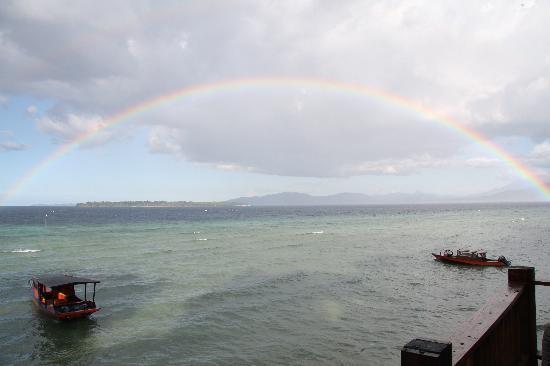 บูนาเกนชาช่าเนเจอร์รีสอร์ท: 虹のプレゼント
