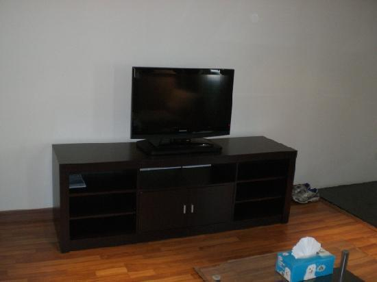Bless Residence: TV and Stand
