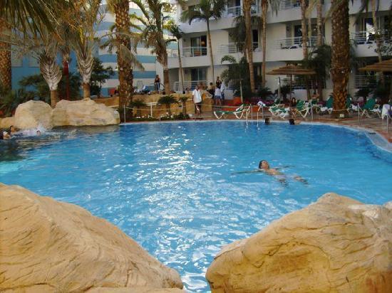 Club Hotel Eilat: Solaris Pool - warm even in Jan