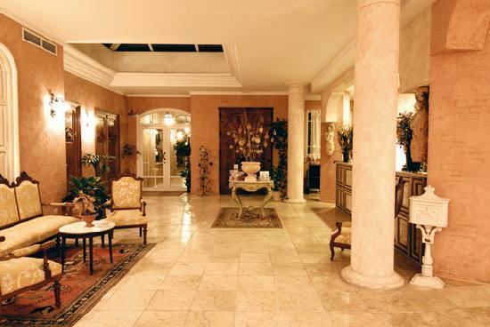 Thalasso Hotel El Palasiet: Recepción del hotel termas marinas El Palasiet