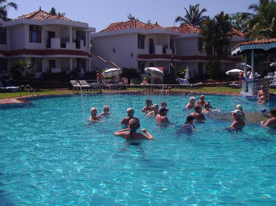 Heritage Village Club Goa: fun in the pool