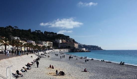 Nicea, Francja: Nice, Promenade des Anglais/Roba Capeù