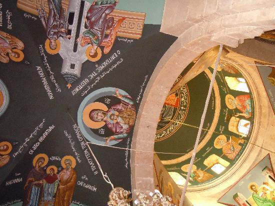 Maaloula, Síria: santa tecla