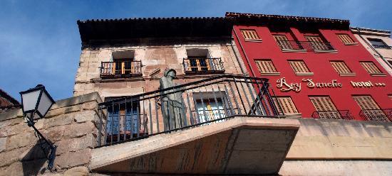 Hotel Rey Sancho: Fachada Rey Sancho