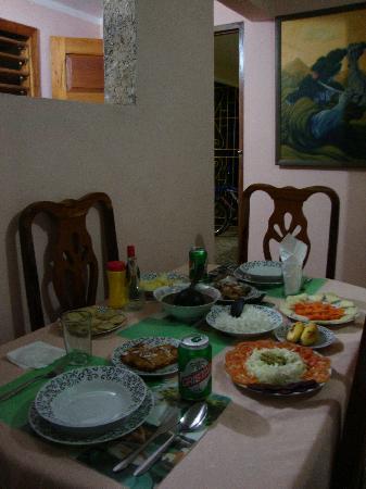Casa de Marilyn: Dinner