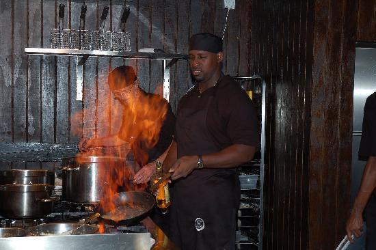 Boucan Restaurant & Bar by Hotel Chocolat: Chefs at Work