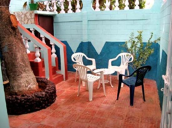 Casa de Miriam: Terraza