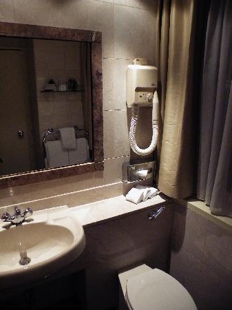 โรงแรมแลนคาสเตอร์ ลอนดอน: バスルーム