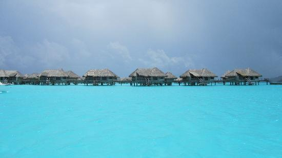 InterContinental Bora Bora Resort & Thalasso Spa: rooms on other side