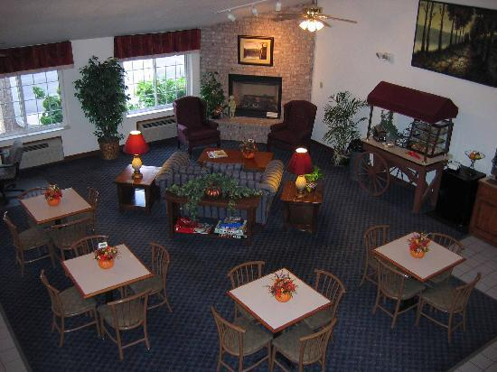 Best Western Stanton Inn: Breakfast Area
