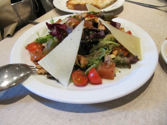 El Raco de l'Aguir: Delicious salad amanida