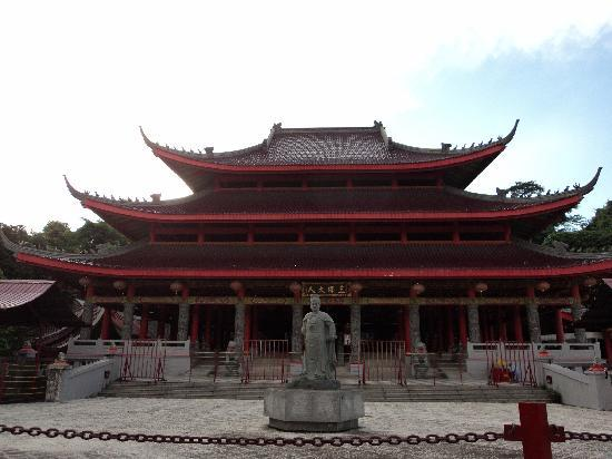 Sam Po Kong Temple: The main building