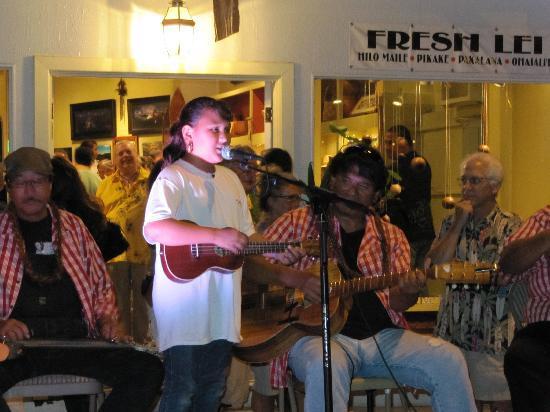 Wailuku First Friday : Band at 1st Fridays