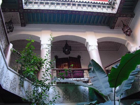 Riad Chraibi : patio