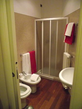 Albergo Santa Caterina : bagno: vista dalla camera
