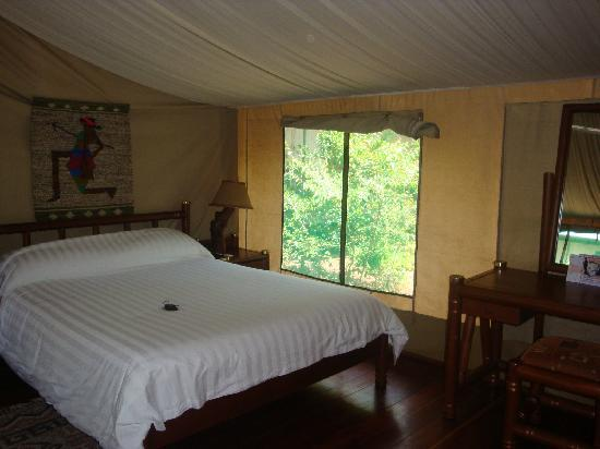 Mara Simba Lodge: tent
