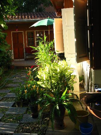 Finlay's Cottage: Garden
