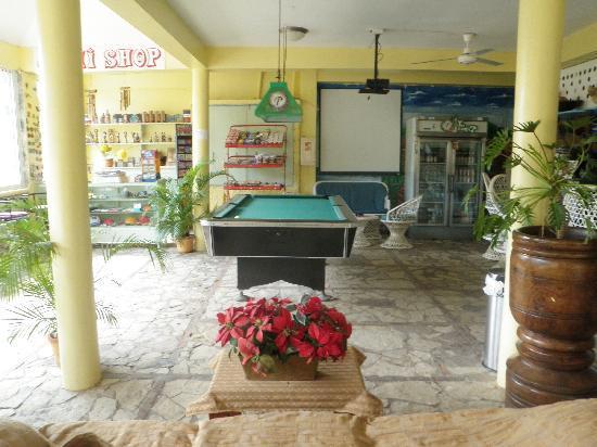 Hotel mango: Pool table