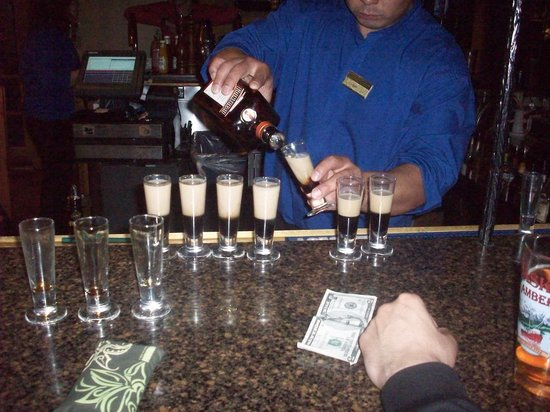 Nenana View Bar & Grille: B52 drinks :)