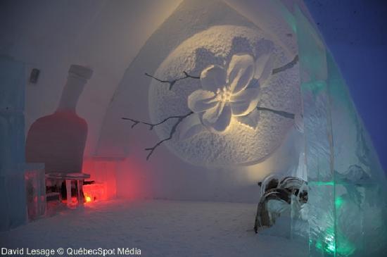 Hotel de Glace: Bar de glace, 2011