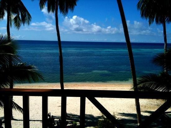 Anda White Beach Resort: view from our beachfront room