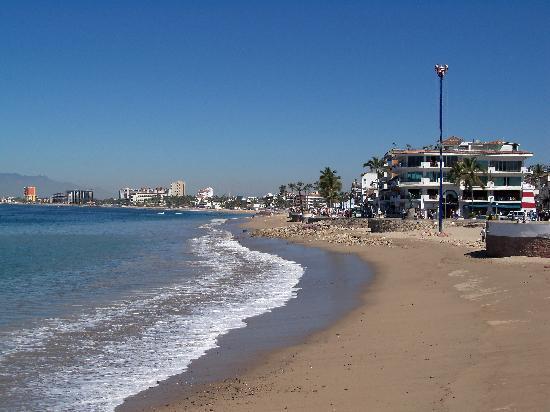 Puerto Vallarta, Mexiko: la spiaggia