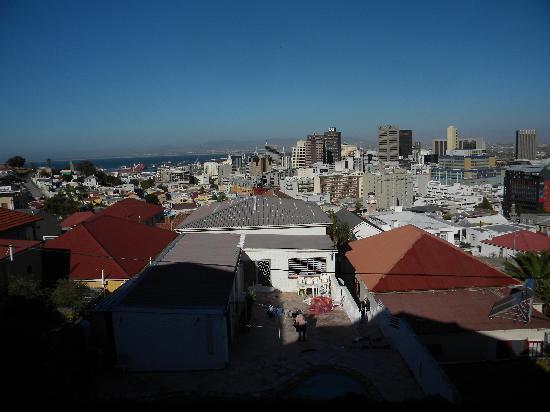 Upperbloem: vue de la terrasse