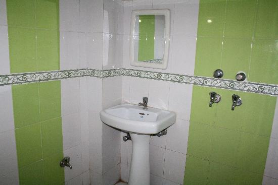 Small Shower Bath Combination For A Corner. Not Sure Why This Was Installed  In This Particular Bathroom ...
