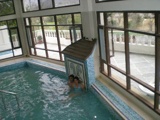 East Bourne Resort & Spa: Sulphur spring water pool at Tattapani hotel