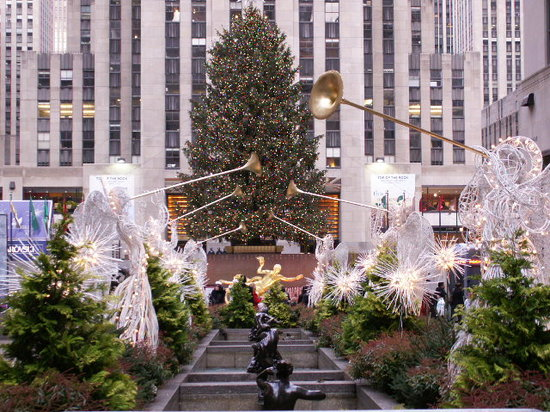 Rockefeller Center: Weihnachten am Rock