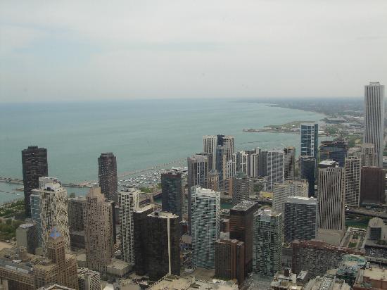 Chicago, IL: skyline vom hancocktower