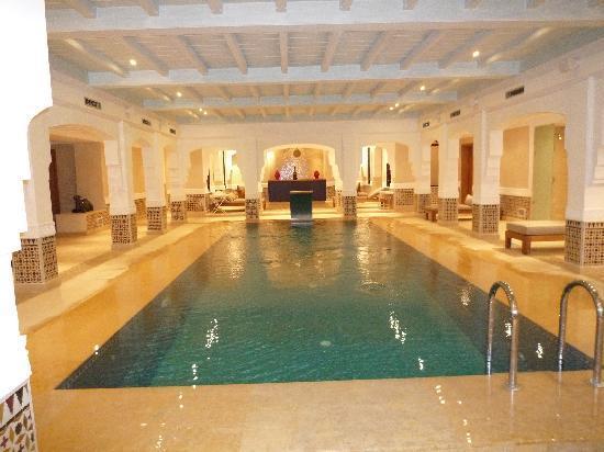 Riad Villa Blanche: spa