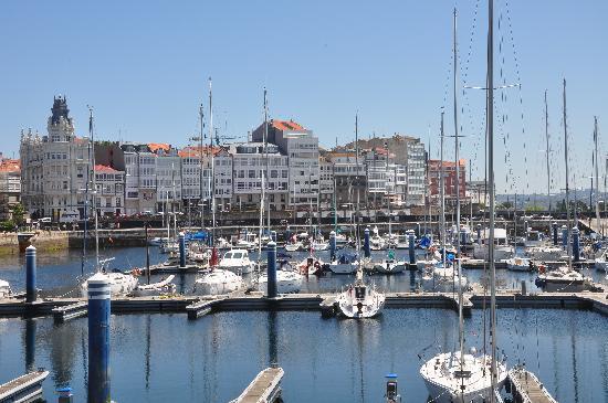 Galicia, Espanha: La coruna il porto