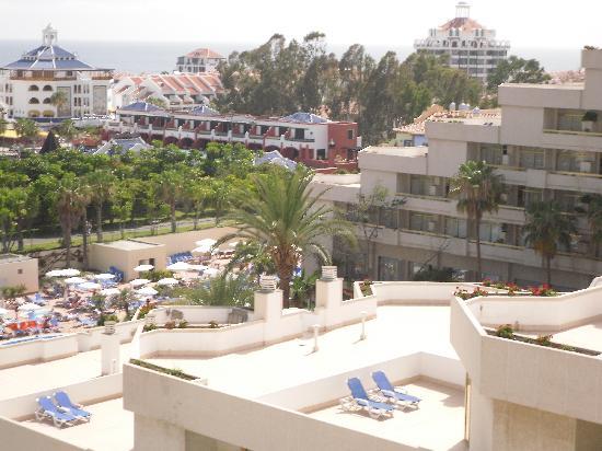 Spring Hotel Vulcano: Blick vom Balkon unseres Zimmers, tagsüber