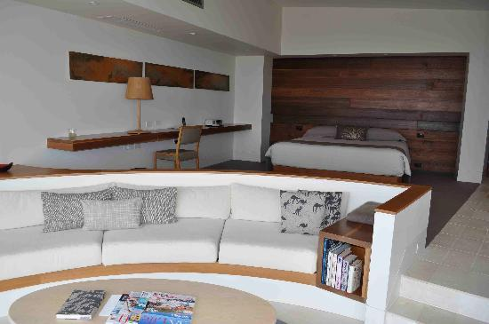 Southern Ocean Lodge: Modern guest rooms
