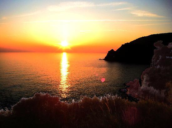 Hotel Bellevue Benessere e Relax: Sonnenuntergang bei St. Angelo