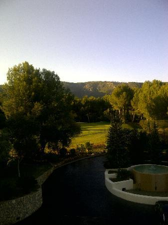 Lindner Golf & Wellness Resort: Aussicht von unserem Zimmer