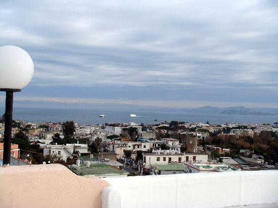 Hotel Bellevue Benessere e Relax: Blick vom obersten Appartement