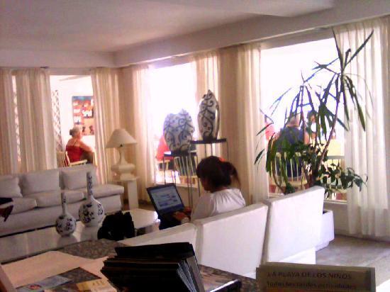 Hotel Americana: en el lobby del hotel
