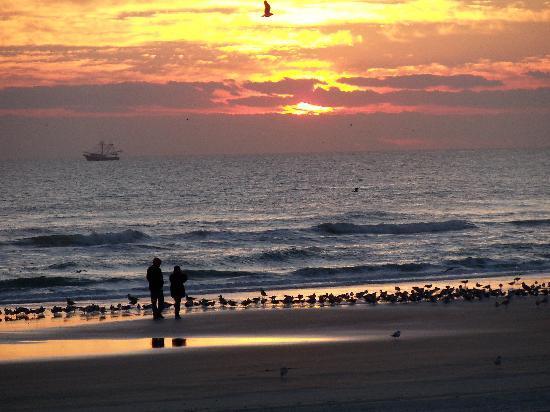 Hilton Daytona Beach Oceanfront Resort Sunrise On The