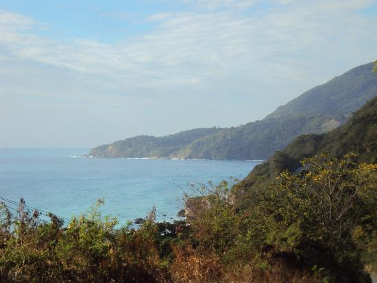 Barahona, Dominikanische Republik: on route to beach