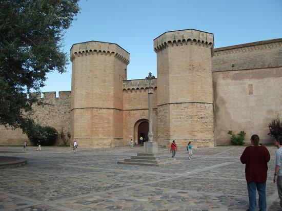 Poblet, สเปน: interior,claustro