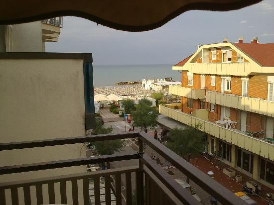 Hotel Lina : Veduta