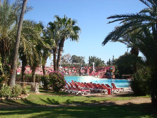 Kenzi Club Oasis : gardens and pool